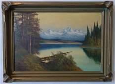 Adolph Newman (1871-1937 WA) Northwest Cascades