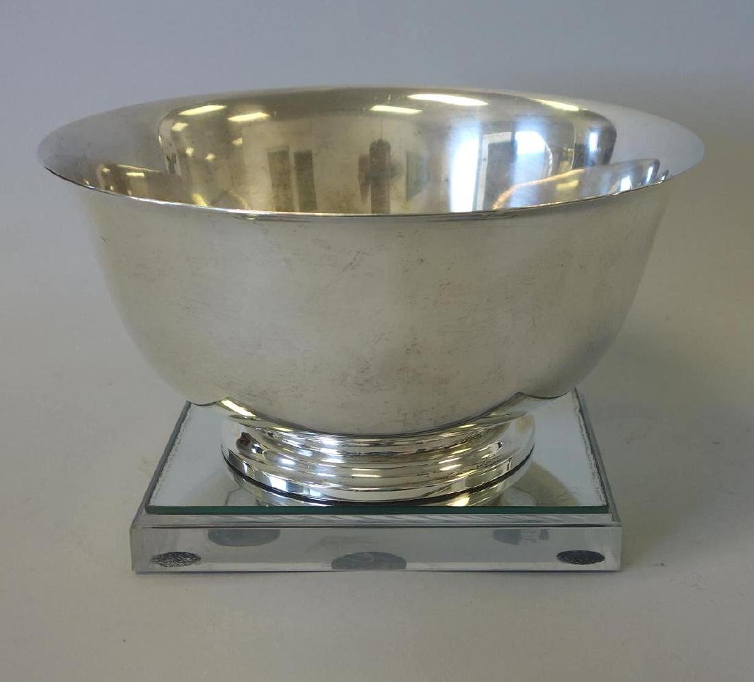 Large Sterling Paul Revere Bowl by Frank Smith