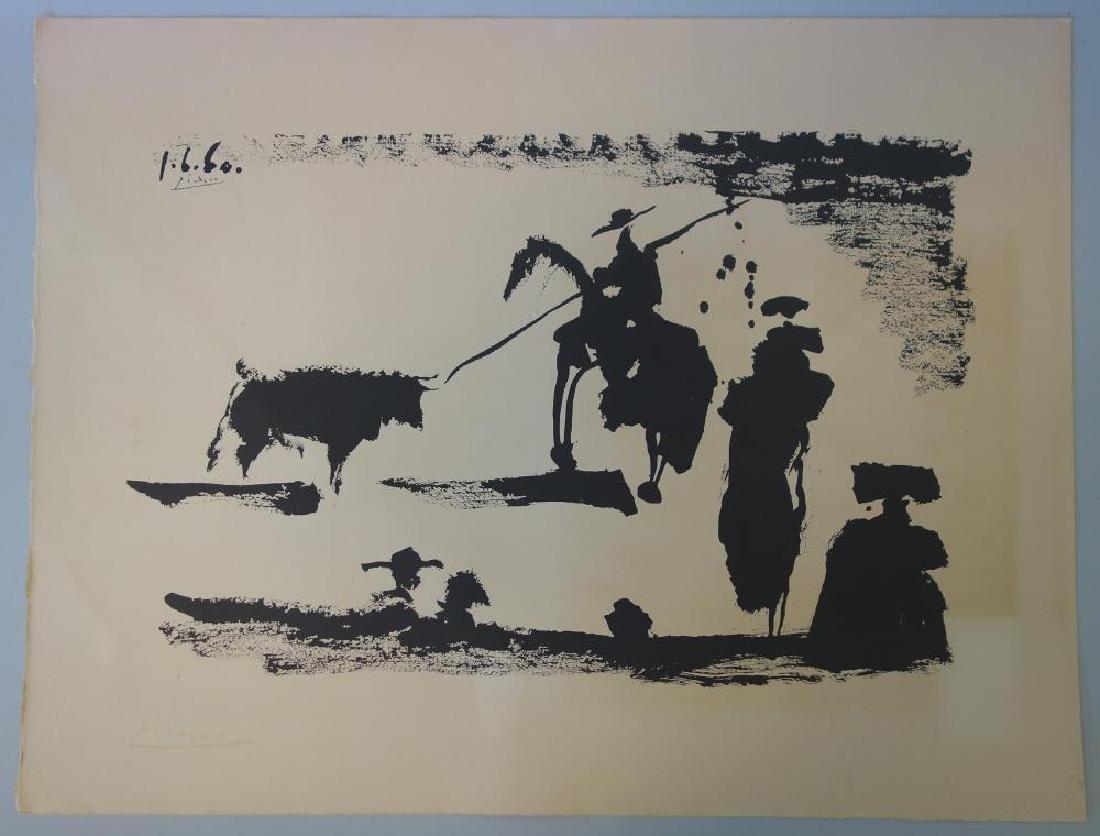 Pablo Picasso, Corrida Avant La Pique