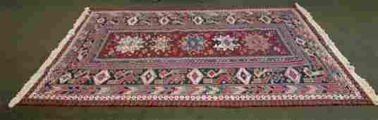 Fine Hand-Woven Oriental Room Size Wool Rug