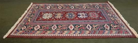 Fine HandWoven Oriental Room Size Wool Rug