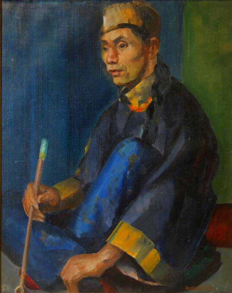 Esther Prabel Price (b-1904, Illinois) Portrait
