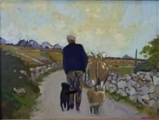 Alex McKenna (b-1943, Dublin) County Road