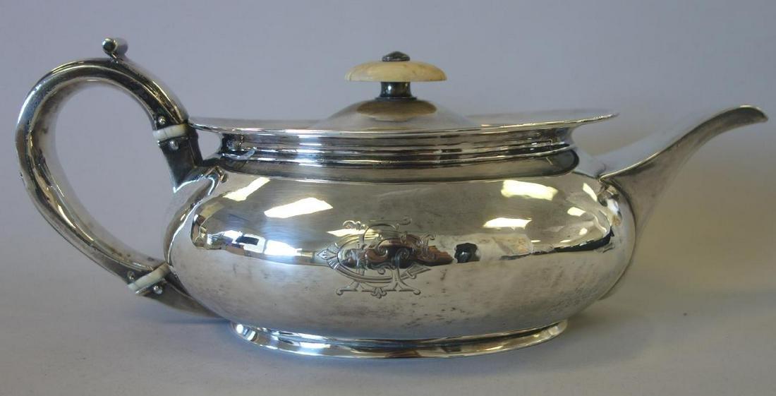 Hannah Northcote, English Sterling Teapot, 1806