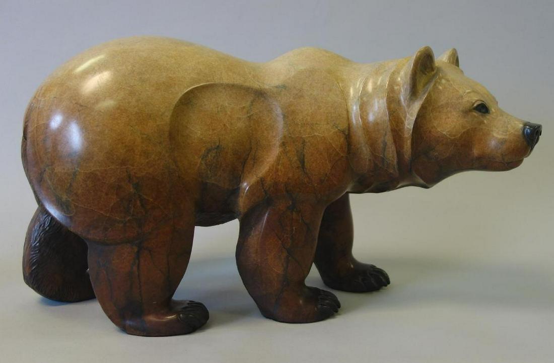 Jacques & Mary Regat (Alaska) Bronze Bear