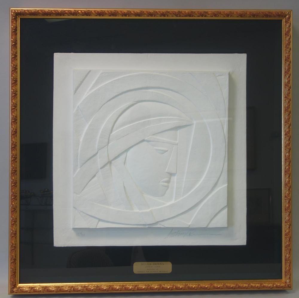 Anthony Quinn (1915-2001) Bella Donna, AQ 9/30