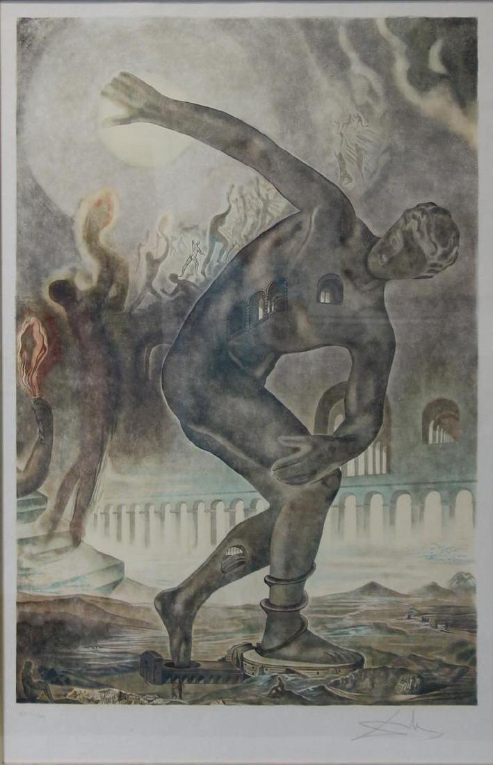 Salvador Dali (1904-1989) Cosmic Athlete