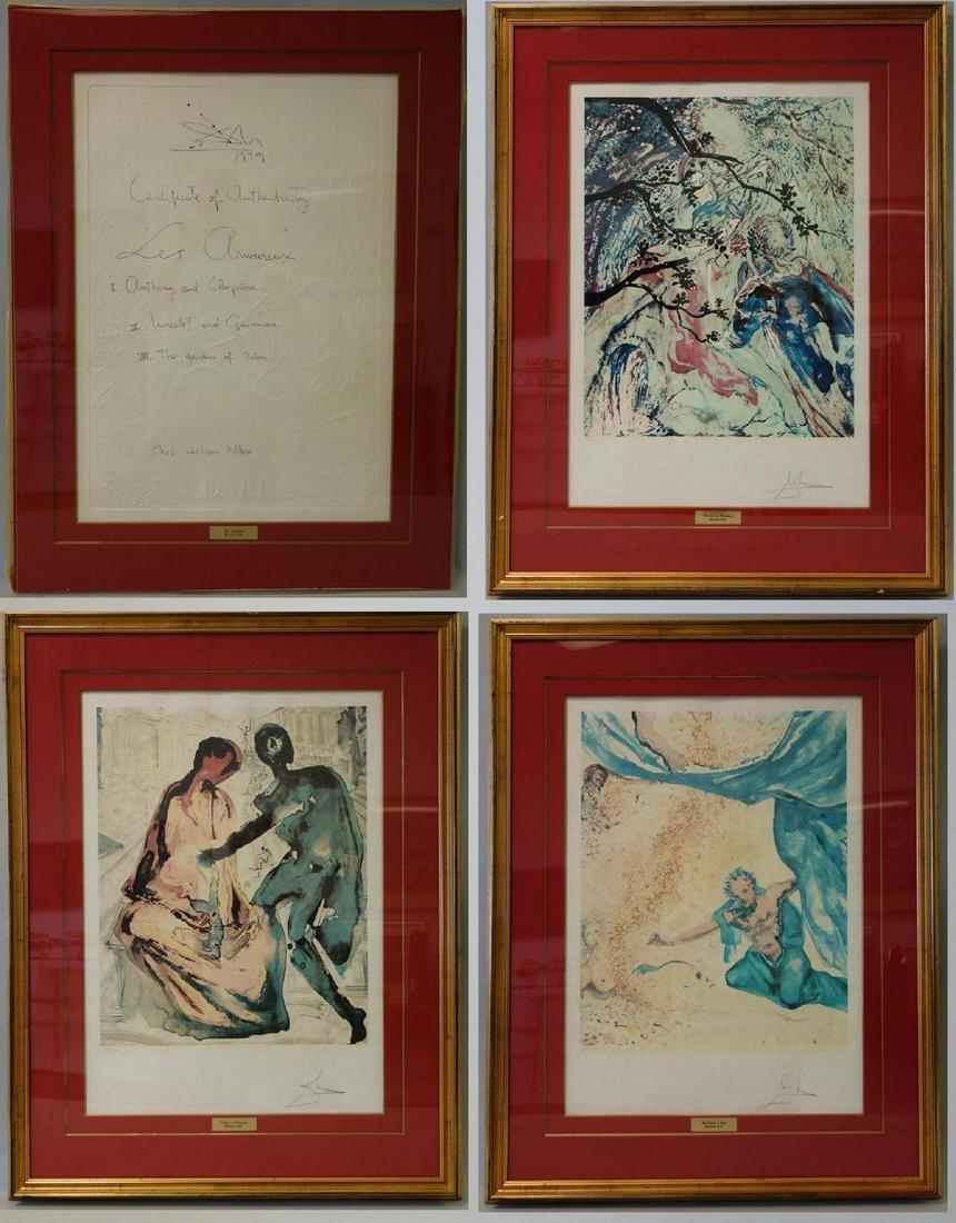 Salvador Dali, Les Amoureaux Series, 140 / 150