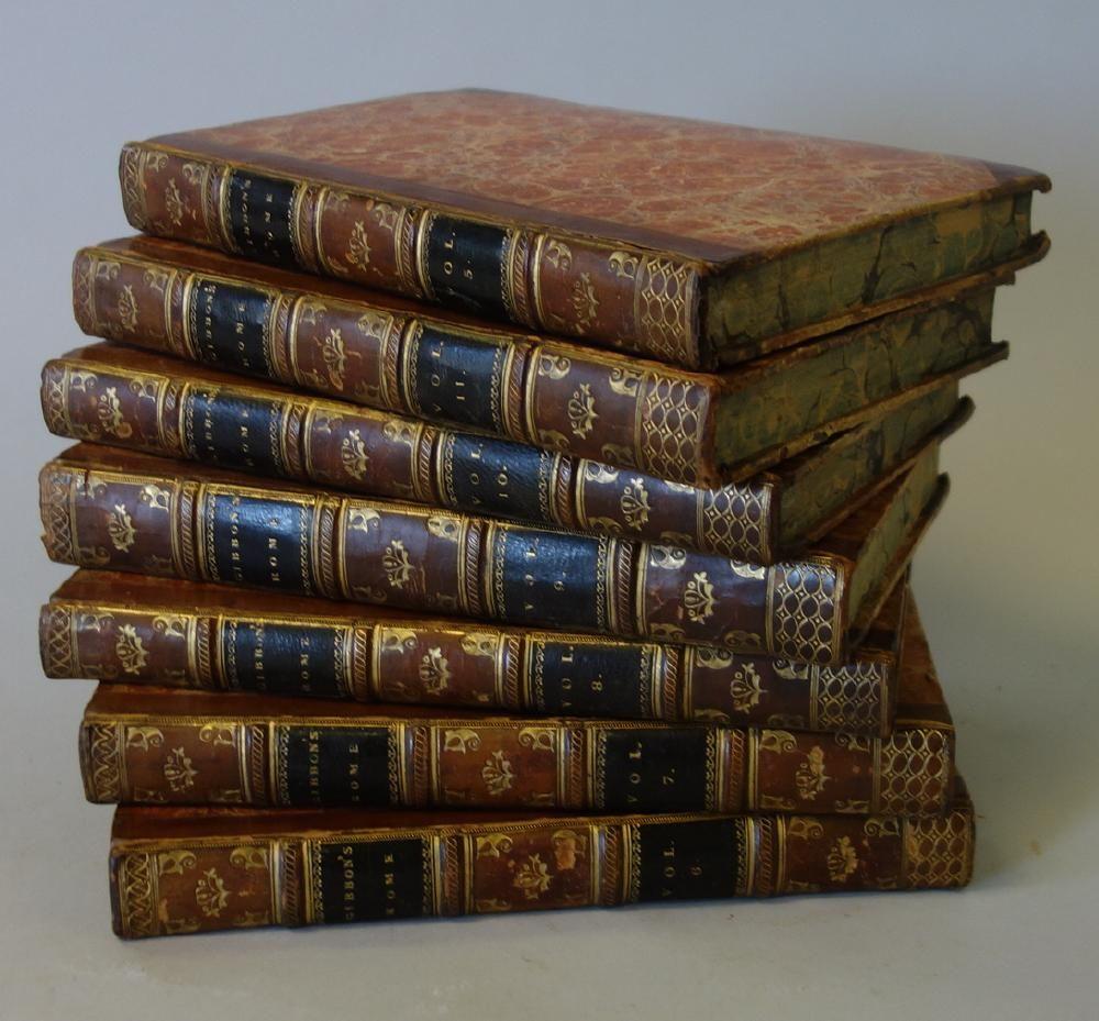 History Decline & Fall Roman Empire, Edward Gibbon