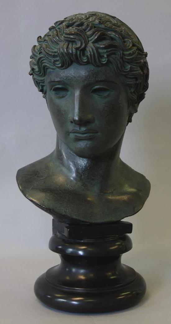 Alva Studios 1955, Bust of Apollo, The Louvre