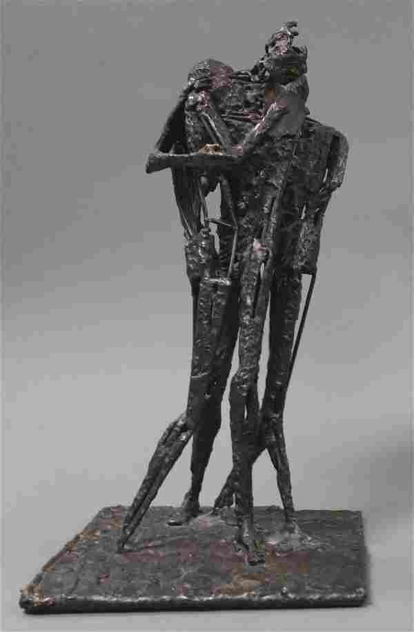 Peter Winart (20thc) Abstract Steel Sculpture