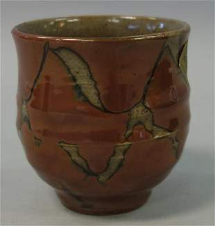 Shoji Hamada (1894-1978) Stoneware Drinking Cup