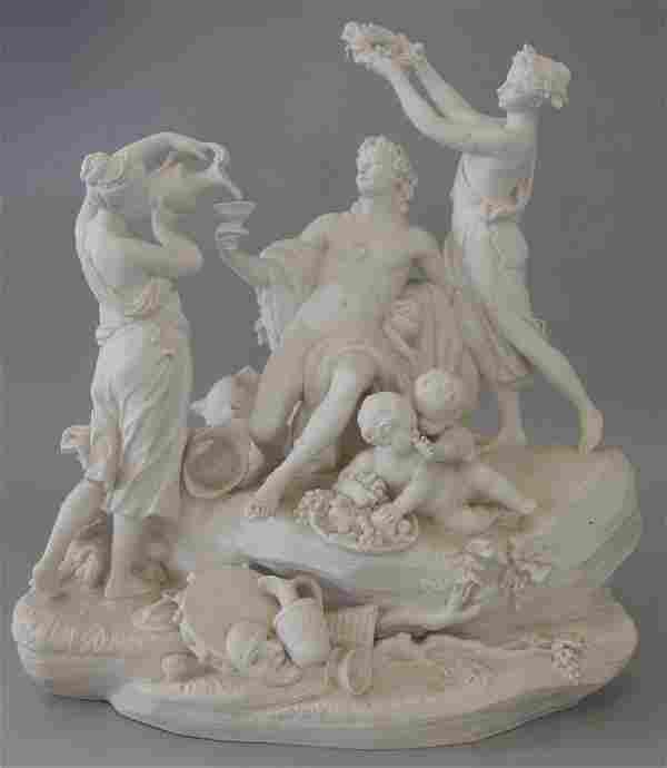 Sevres Allegorical Sculpture, D'Apres Carnaval