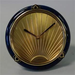 Cartier Art Deco Style Desk Clock #65353