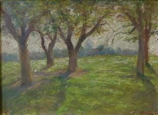 Bessie Hendricks (1867-1929) Orchard Study