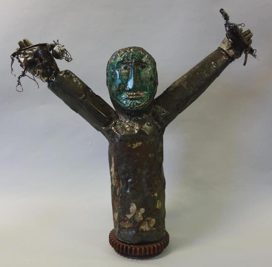 Terry Turrell (b-1946) Assemblage Sculpture