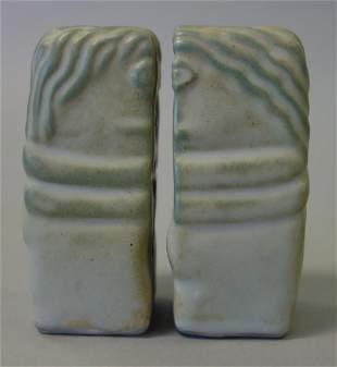 Constantin Brancusi The Kiss Ceramic Salt & Pepper