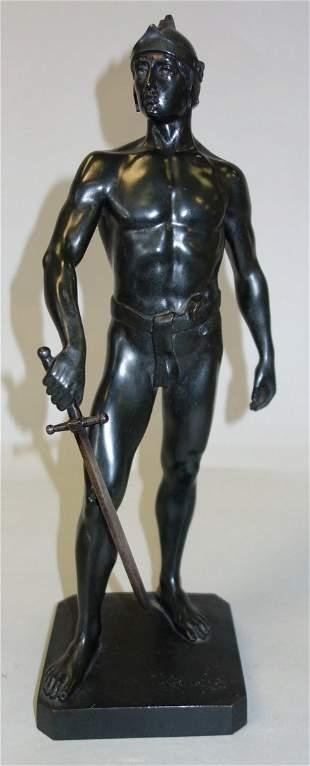 Julius Schmidt Felling (1835-1920) Nude Bronze
