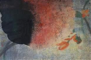 Yang Yanping (b-1934) Last Sunset of Summer