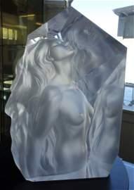 Frederick Hart (1943-1999) Exaltation, Nude Female