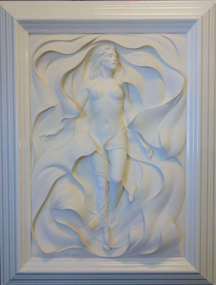 Bill Mack (b-1941) Sculpture Odyssey + Signed Book