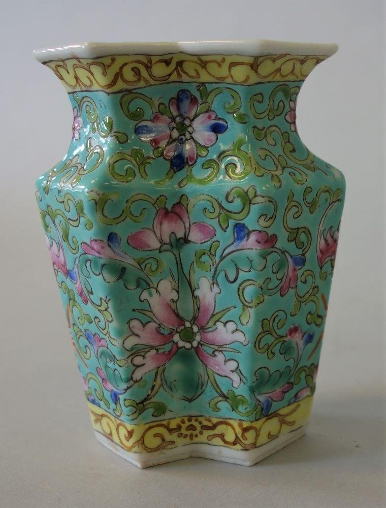 Chinese Porcelain Double / Octagon Vase
