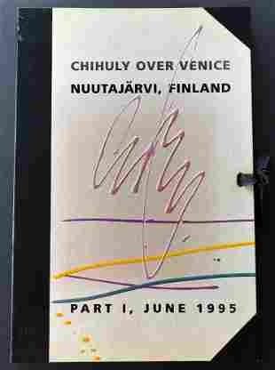 Chihuly Over Venice, Nuutajarvi, Finland, Signed