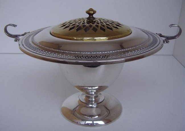 2: Sterling Potpourri Bowl by Alvin