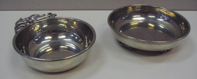 19: Buenilum Pewter Porringer Bowl & Max Rieg Bowl