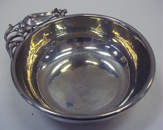 19: Buenilum Pewter Porringer Bowl & Max Rieg Bowl - 2
