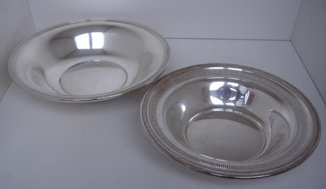 6: Two Sterling Bowls, one by Whiting