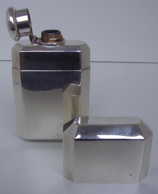 9: Tiffany & Co. Sterling Flask