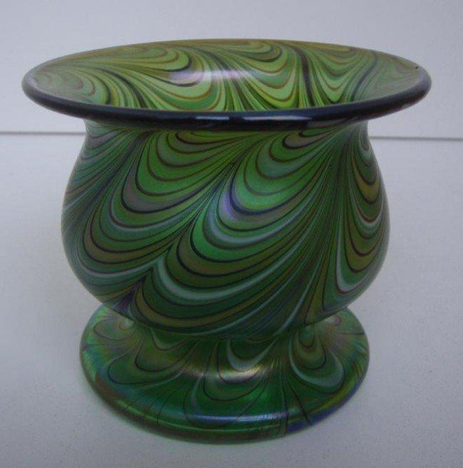 20: Grant Randolph Studios Art Glass Vase