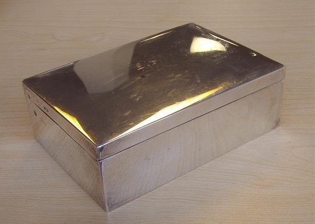 11: Asprey Sterling Cigarette Box, London, 1901