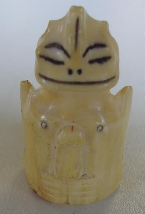 24: Erotic Inuit Billiken Carving, Nude Male & Female