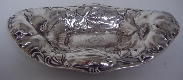4: Sterling Art Nouveau Dish by Alvin