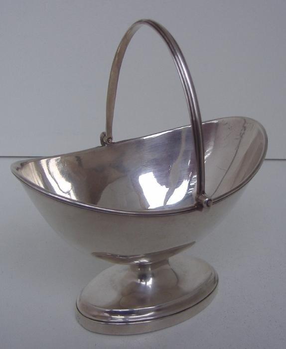 7: Georgian Sterling Bowl, John Robins, 1793