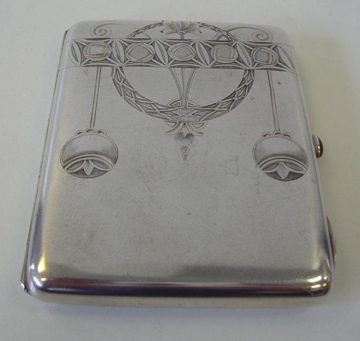 15: Russian Silver Card/Cigarette Case