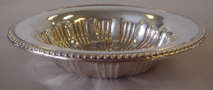 19: Sterling Serving Bowl by Watrous Mfg. Co