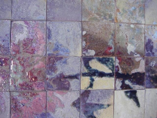 121: AJ & Jack Ferrell NW Ceramic Tile Framed Diptych - 2