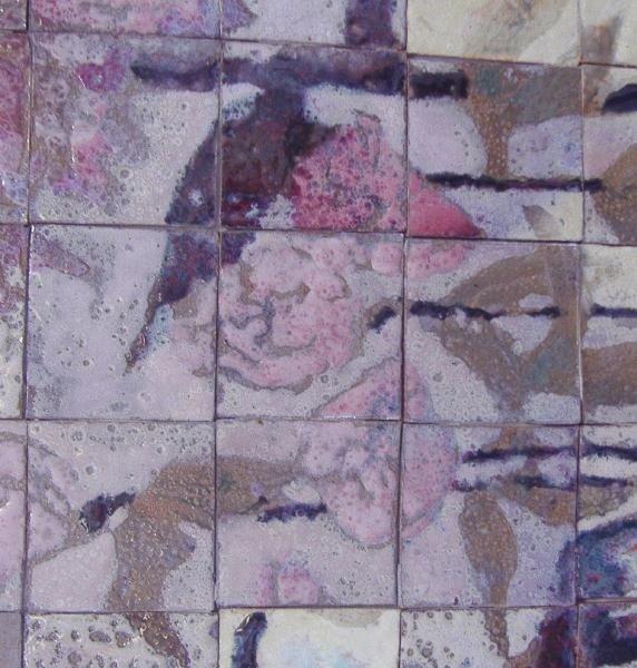 121: AJ & Jack Ferrell NW Ceramic Tile Framed Diptych - 3