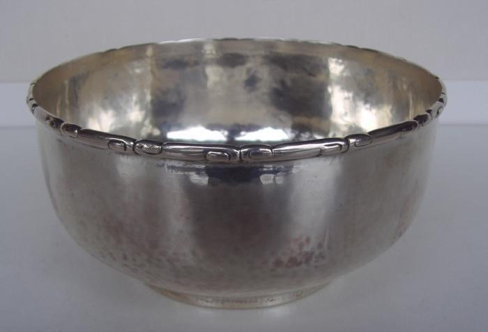 6: Danish Silver Bowl, Christian Heise, Moinichen