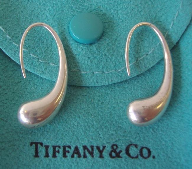 13: Tiffany & Co Sterling Earrings by Elsa Peretti