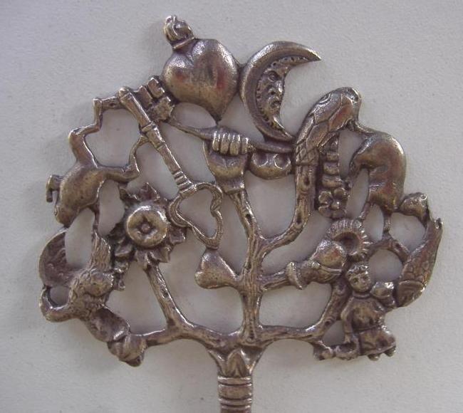 22: Coppini Italian 800 Silver Necklace & Pendant