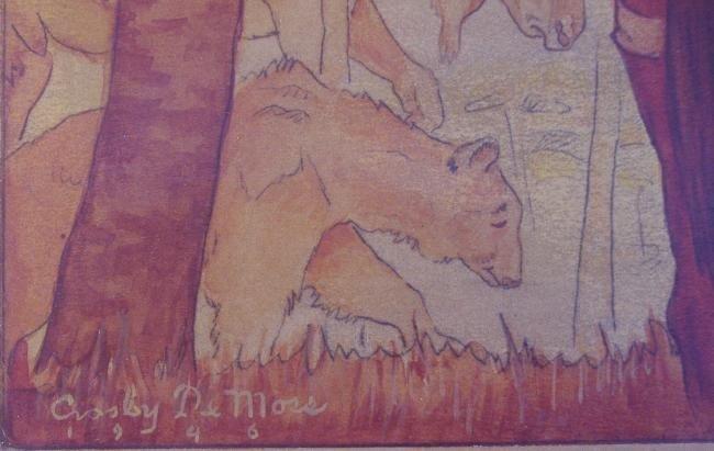 38: Crosby DeMoss Ernest Hemingway, Cooper Painting - 4