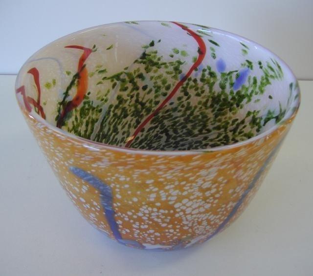 8: Contemporary Art Glass Bowl