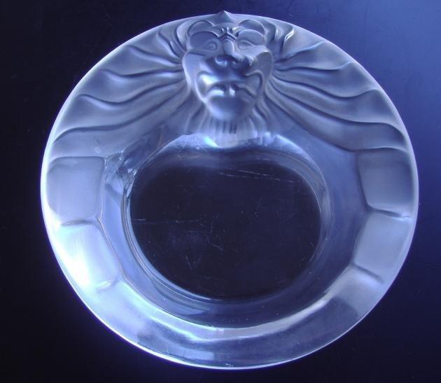 13: Three Lion Art Deco-Syle Ash Tray