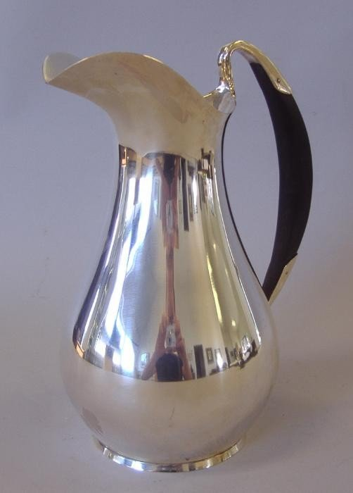 4: Tiffany & Co Sterling Water Pitcher. 3-1/2 Pints