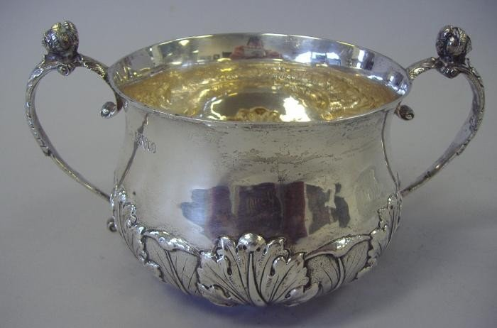 16: Nathan & Hayes Sterling Bowl, Chester, 1912