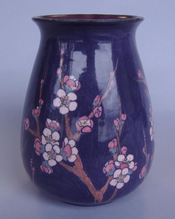 3: Rookwood Sara Sax Porcelain Vase, 1924